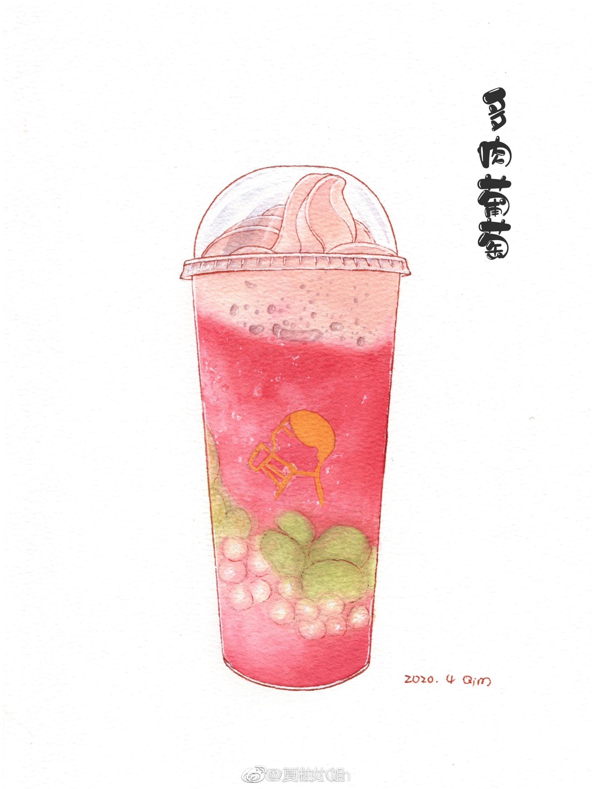 叮~您的喜茶外卖已送到请注意查收~@小仙女Qin