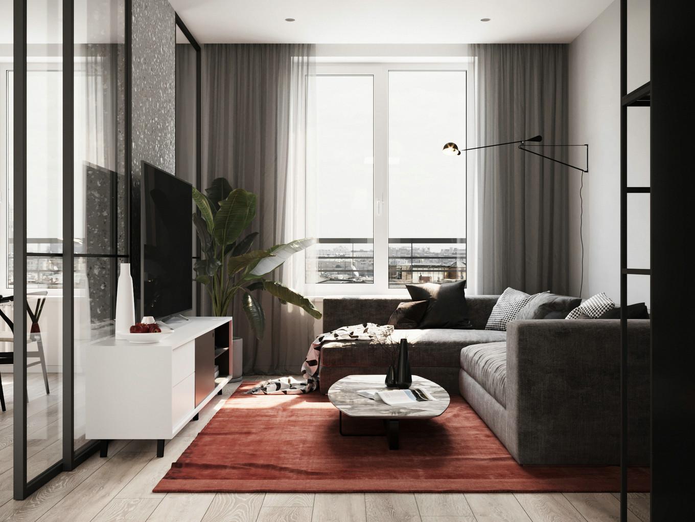 黑白现代简约风格 汕头室内设计/潮阳揭阳普宁潮州室内设计