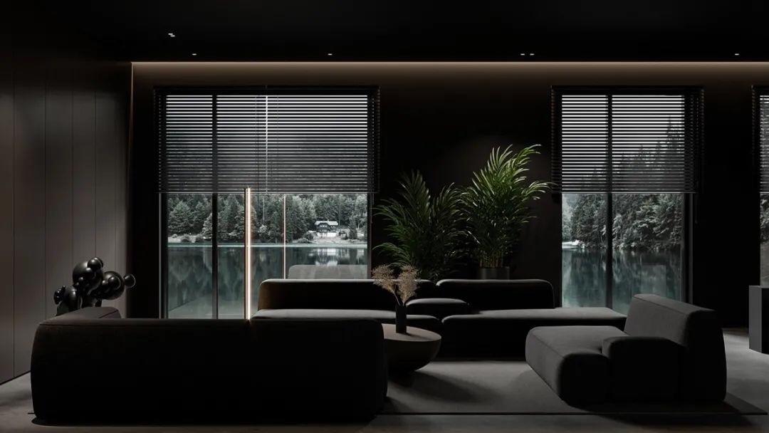 性冷淡风粗犷裸宅汕头设计的/汕头室内设计