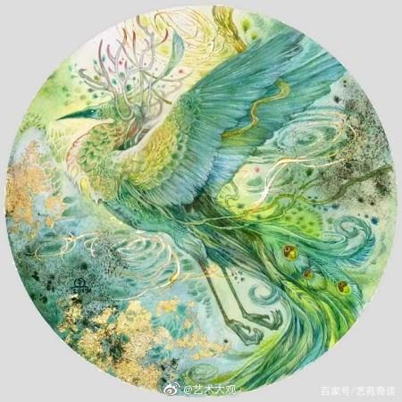 华裔女画家斯蒂芬妮·罗绘画作品欣赏斯蒂芬妮·罗是一位想象力惊人的