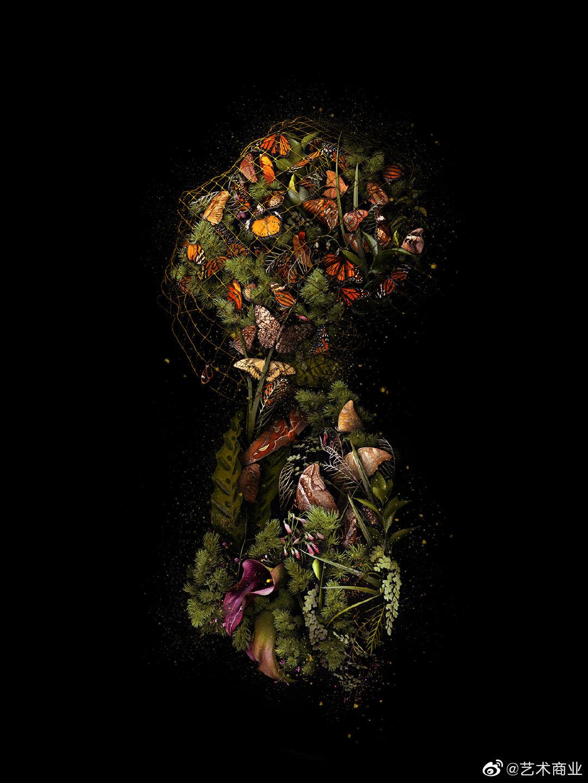 美国艺术家Meggan Joy亲自播种、耕作,在花园种出繁茂的植物