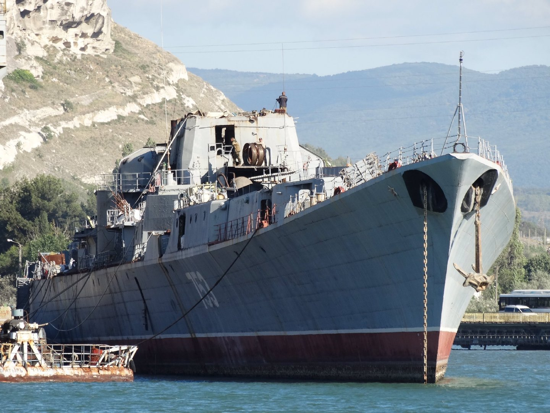7月15日塞瓦斯托波尔的英克曼拆船厂