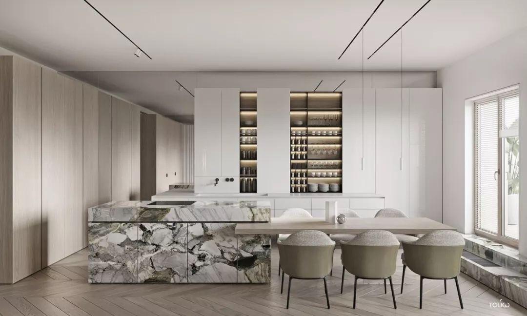 大平层,细腻优雅的冷静美学 汕头设计师/汕头室内设计