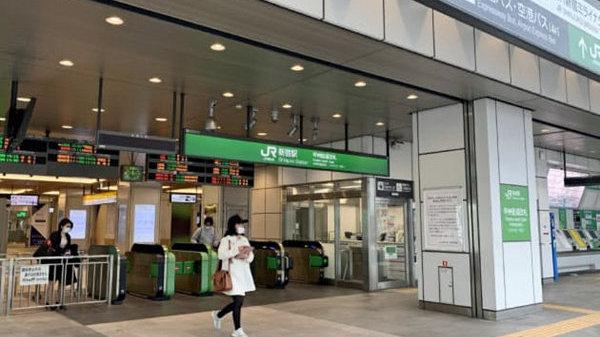 东京圈避免外出的首个周末铁路客减少7成