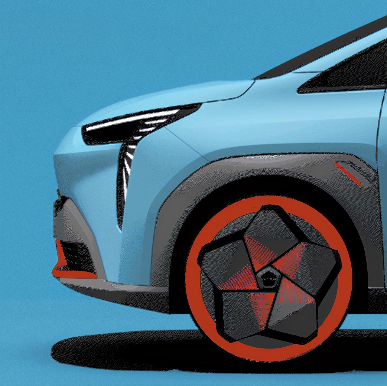 将于广州车展发布 定位A级智能纯电SUV 广汽新车预告图曝光