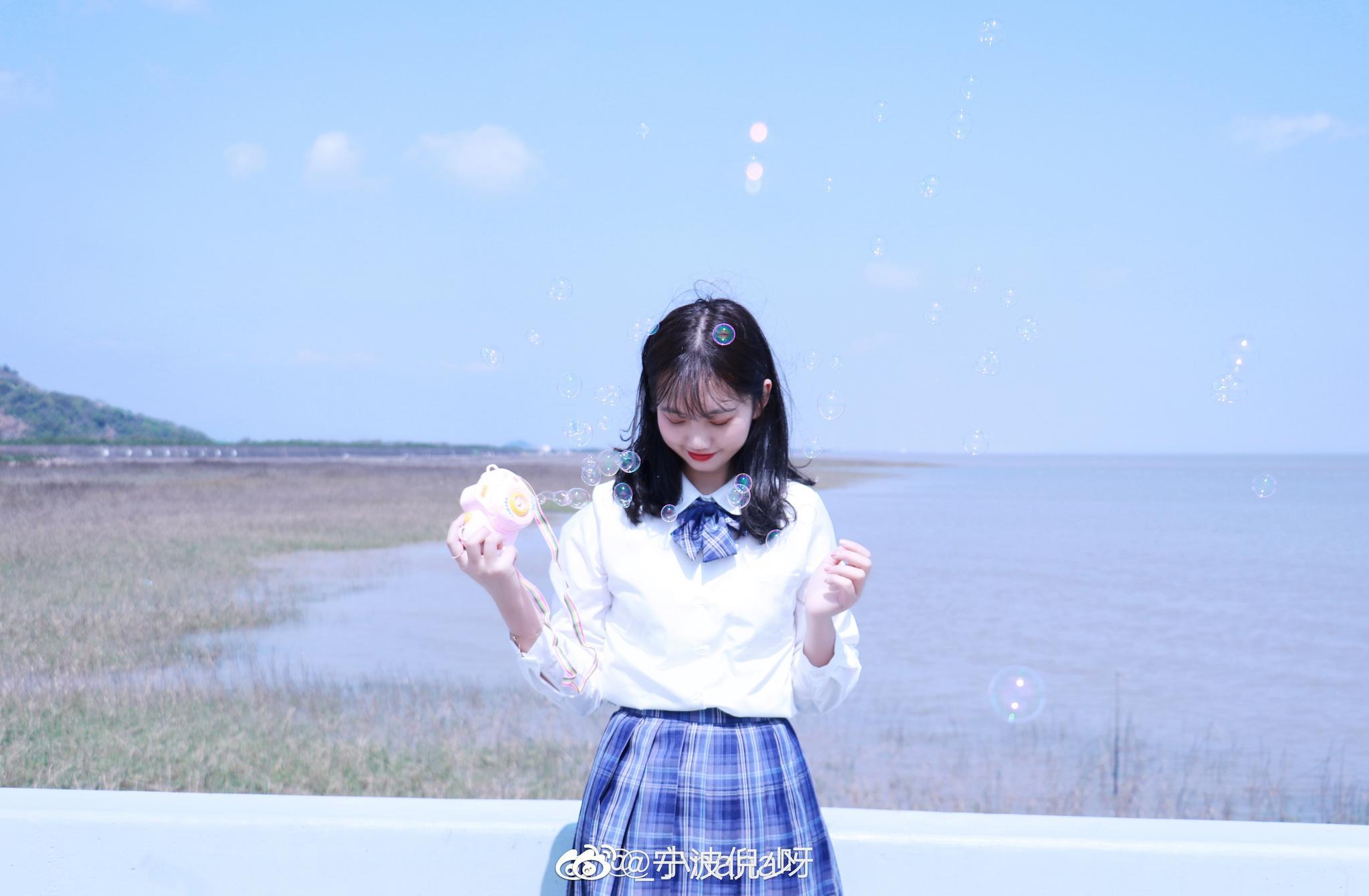 ✨我的春日写真集 | Jk📍横山码头 (@_小nana呀 投稿)