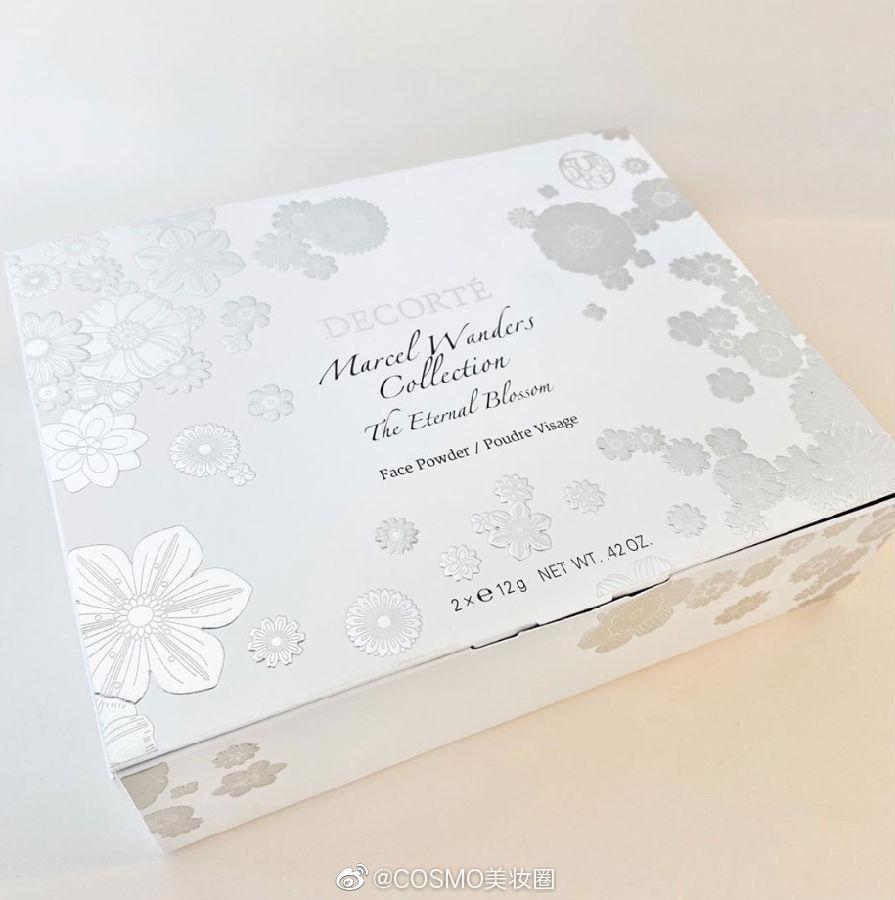 黛珂将于12月1日发布新品Marcel Wanders The Eternal Blossom定妆粉