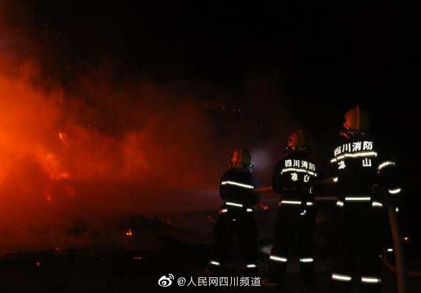 特写:凉山消防救援支队特勤力量坚守阵地48小时