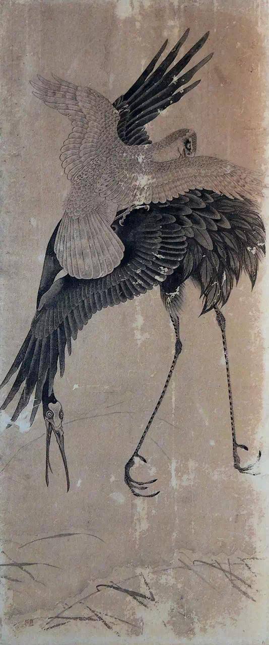 这位日本画家的国画,水墨淋漓!曾我萧白,生于1730年