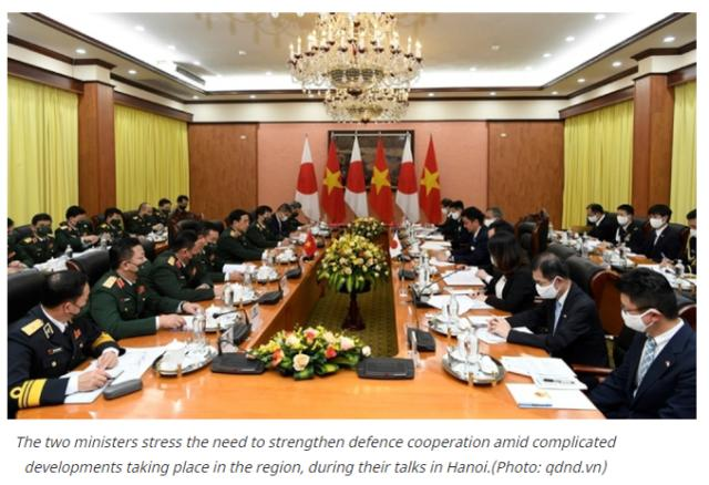 """日本越南签署防务转让协议,日防相:日越是""""命运共同体"""""""