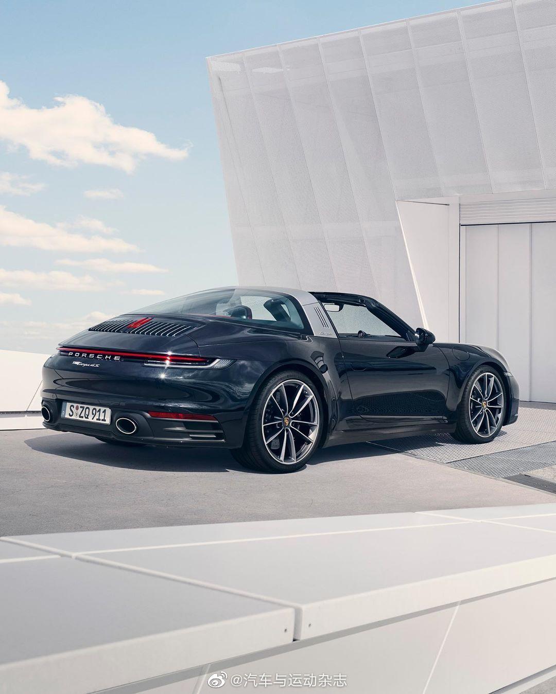 全新保时捷911 Targa 4搭载3.0L 六缸水平对置涡轮增压发动机