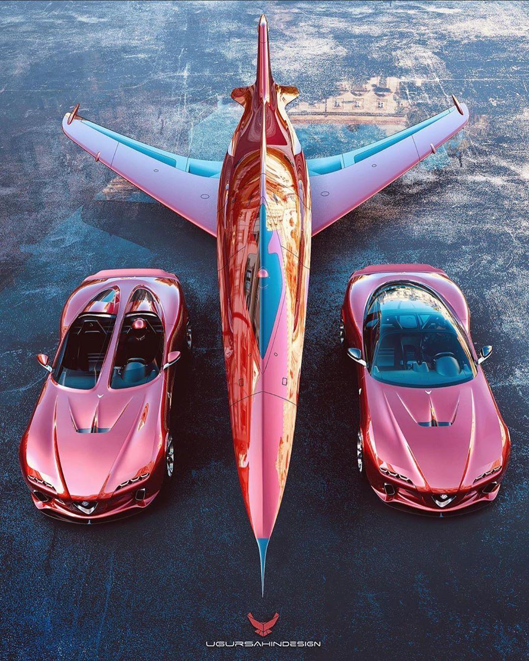 独特分裂座舱设计的阿尔法罗密欧 vs Plane!