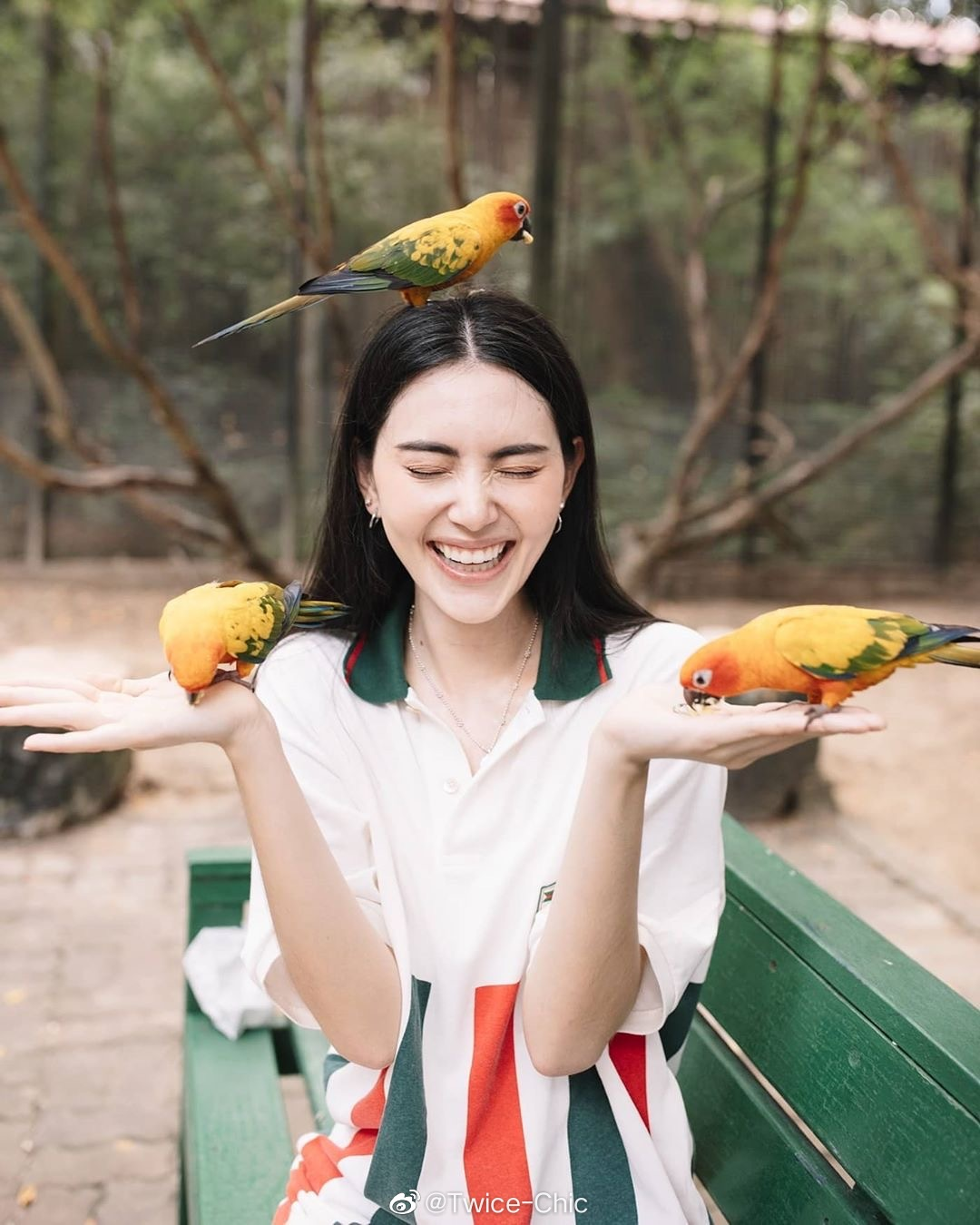 Mai Davika | 曼谷Safari World野生动物园秋游记 🦜