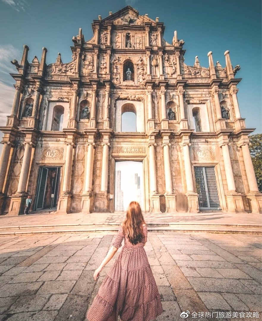 澳门八景之一的大三巴牌坊,前身是天主之母教堂!