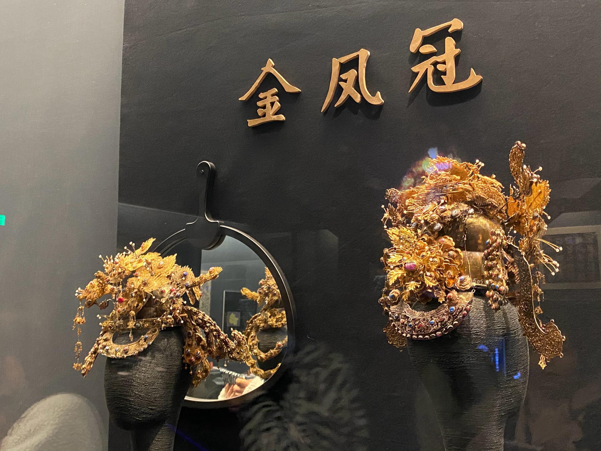 贵州博物馆通史展展出的东西不多,展线也比较短和混乱