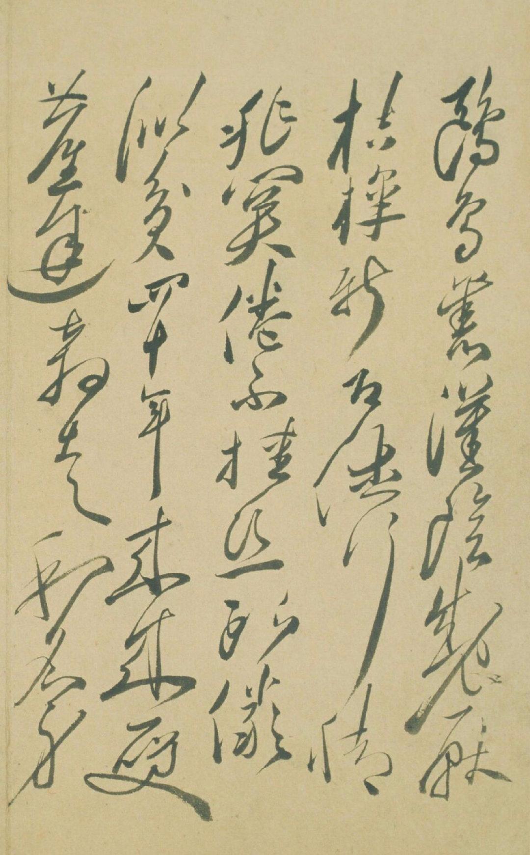徐渭|自书诗册页