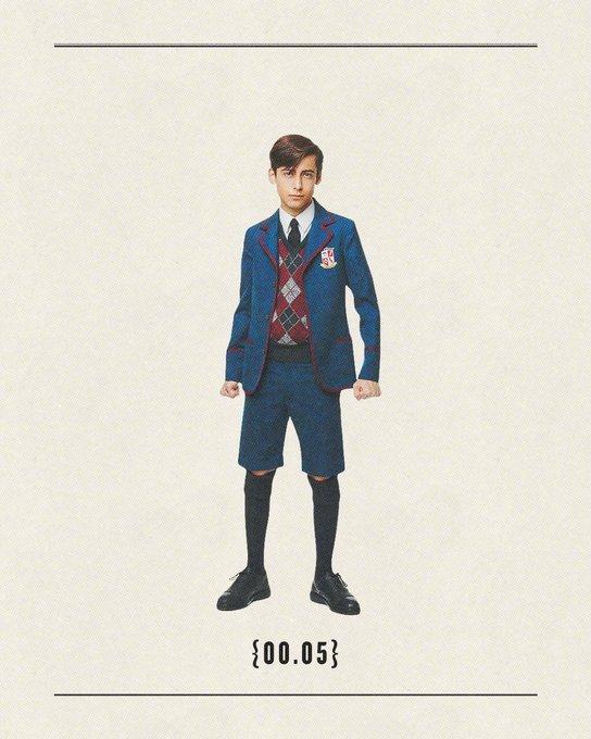 《伞学院》第二季已于7月31日上线Netflix