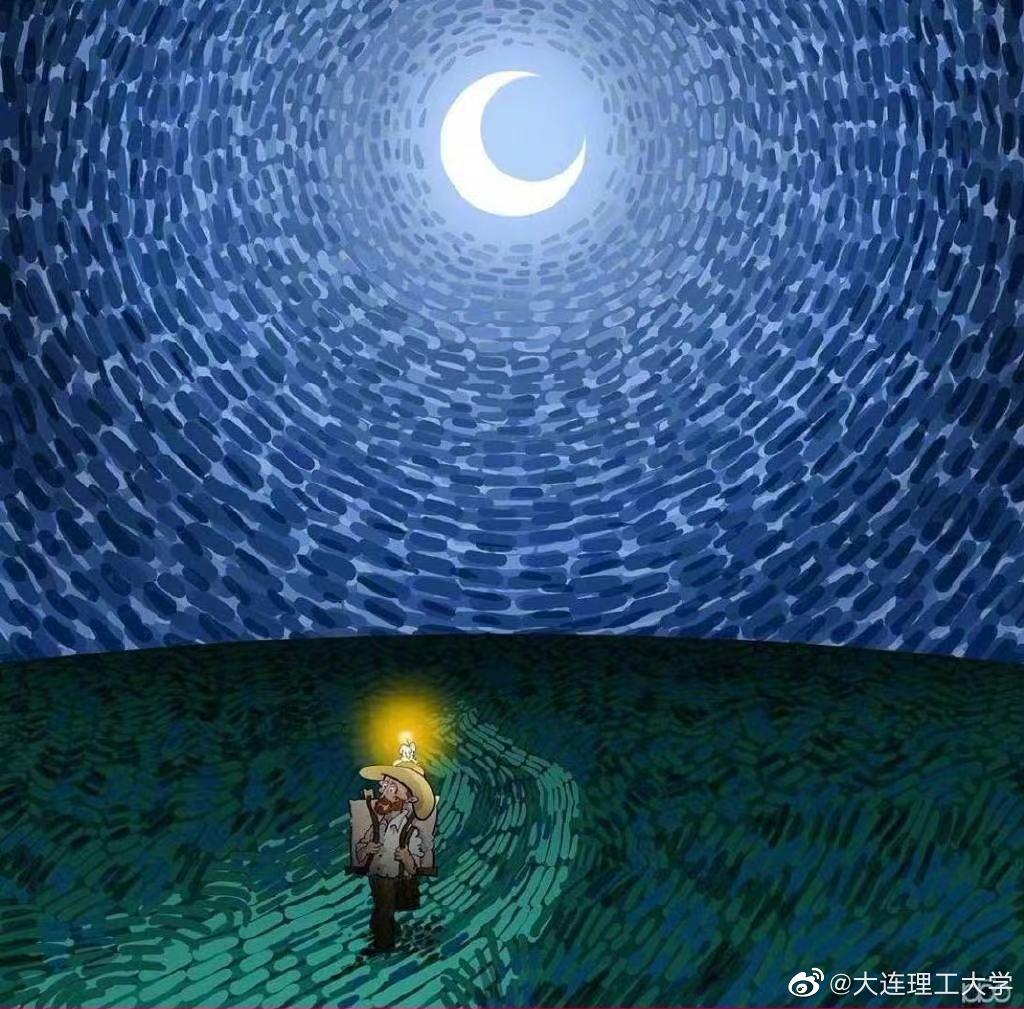 梵高的夜 | alireza karimi moghaddam (@Photoshop大师 )