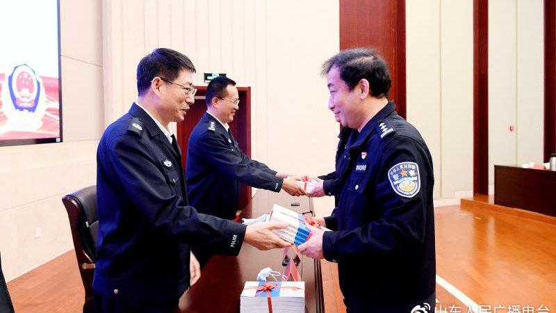 全国首部省级公安机关民法典执法指引诞生 省公安厅举行首发仪式