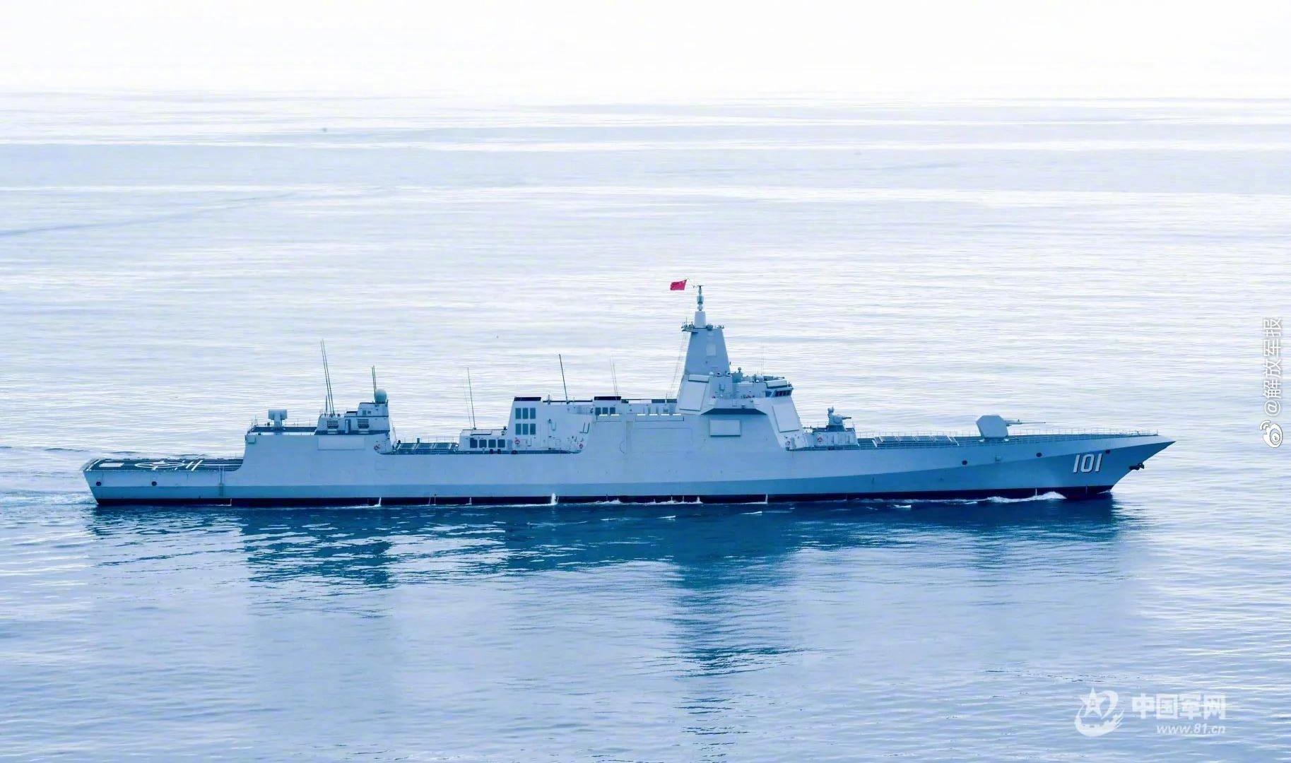 055型驱逐舰101号南昌舰