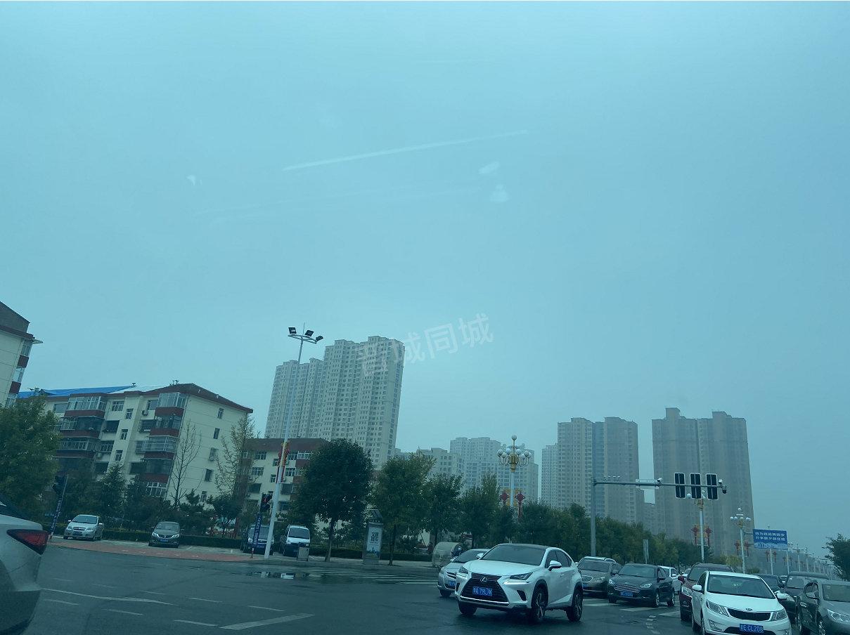 网友投稿:早上刚拍的,晋城今天的天!