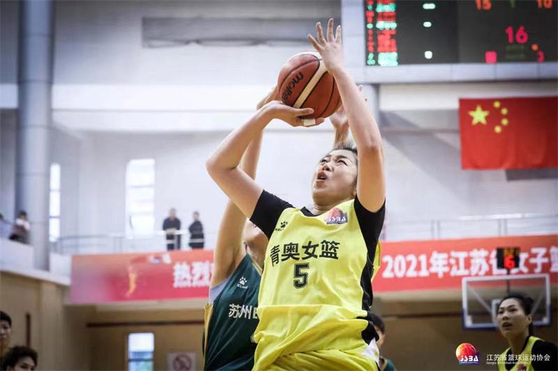 """步隆青奥问鼎江苏女子篮球联赛暨""""我要上全运""""选拔赛"""