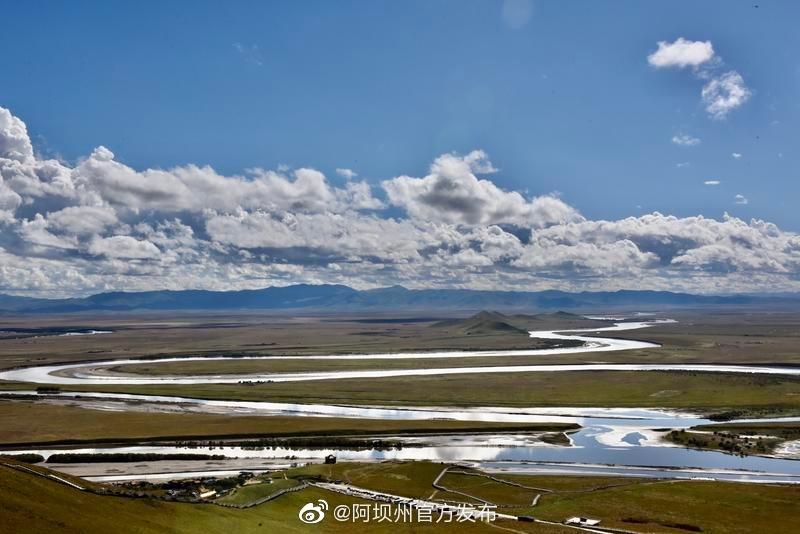 """黄河流域生态保护和高质量发展""""网络主题活动走进阿坝州"""
