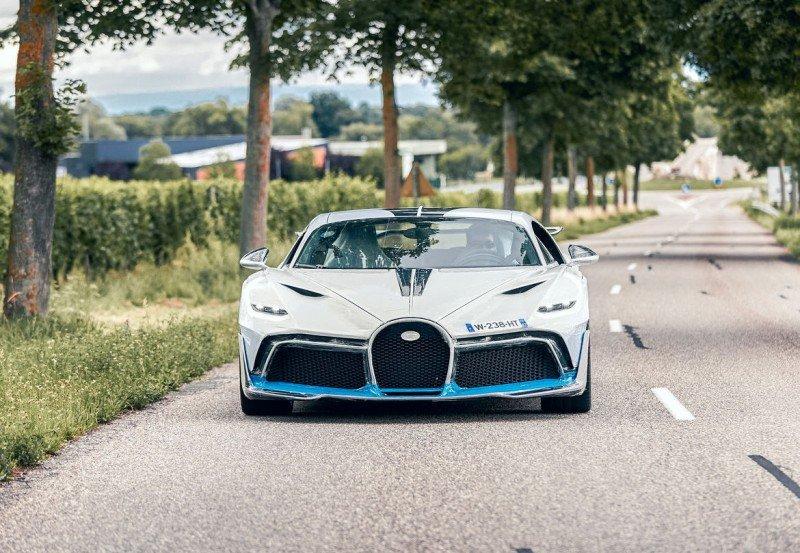 布加迪Bugatti Divo交车方式