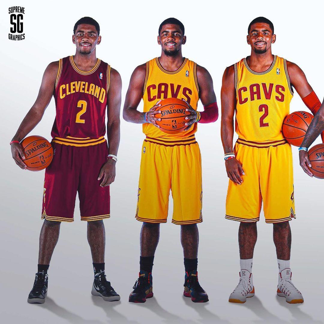 欧文目前NBA生涯轨迹,28岁,9个赛季,3支球队,6次全明星