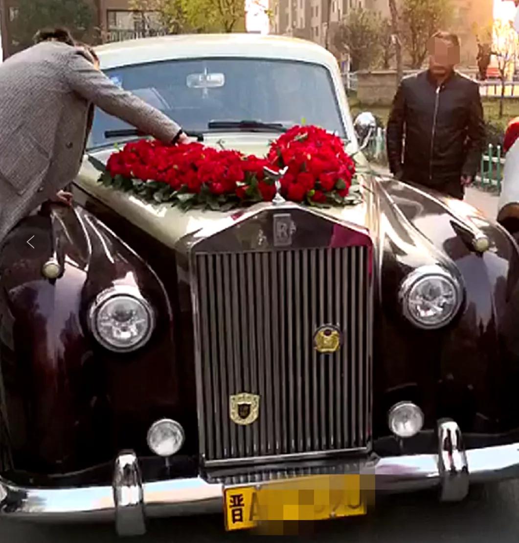 比 更有排面的婚礼神车,你知道它的制造商是谁吗
