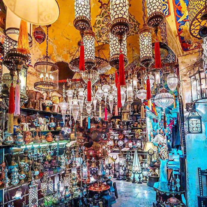 伊斯坦布尔的琉璃灯集市,感觉太赞了
