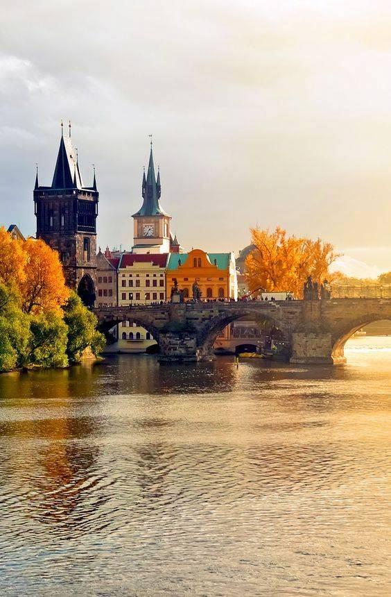 捷克布拉格,浪漫无处不在。