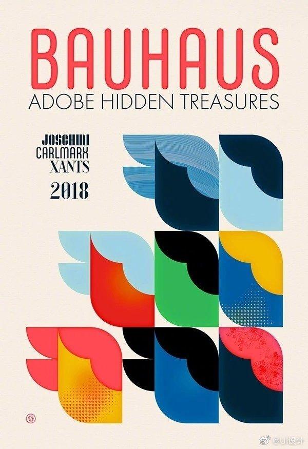 英国设计师W. Flemming包豪斯建筑学院百年校庆系列海报分享