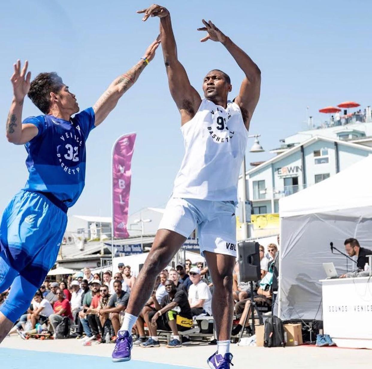 篮球胜地,洛杉矶威尼斯海滩篮球场