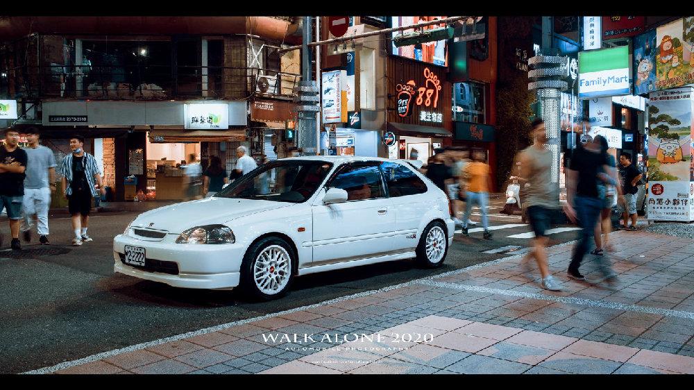 对别人的老车文化表示羡慕 - 本田思域EK9改装案例