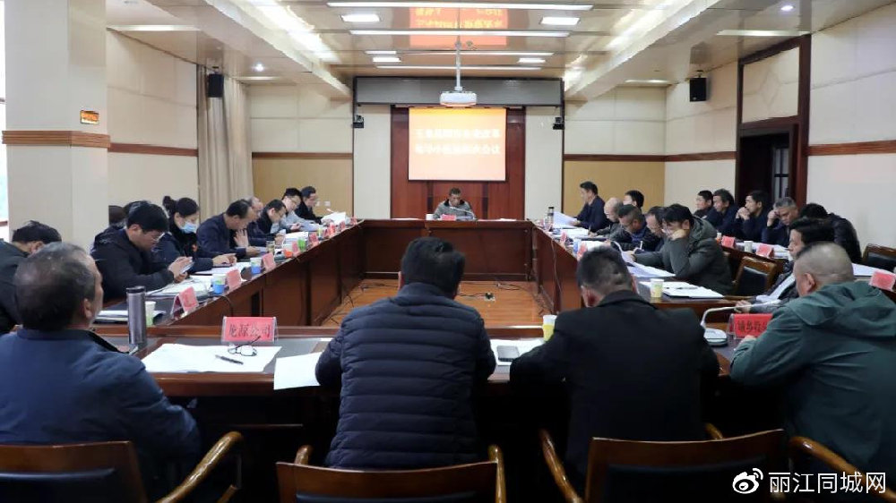 玉龙县召开国有企业改革领导小组第四次会议
