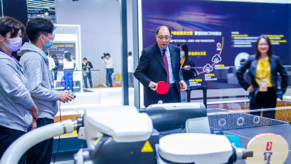 进博时刻|高通孟樸:进博会凸显全球5G合作生态携手产业助力中国经济