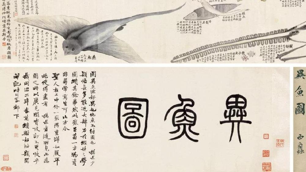 画中题跋,中国画上的独特之处