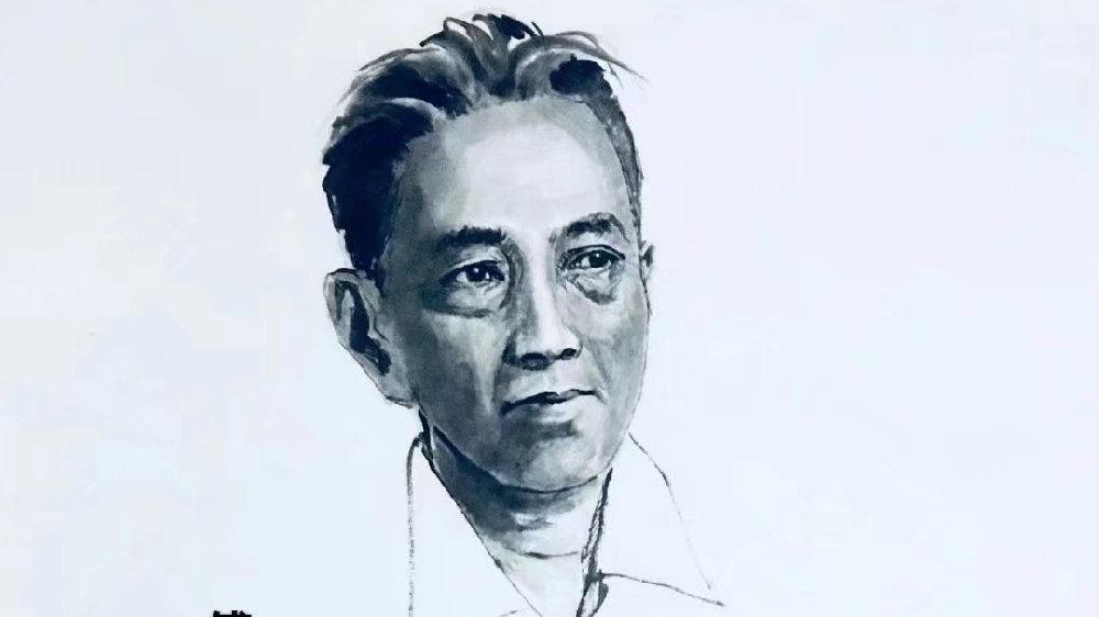 《中国百年文化巨匠水墨肖像》——傅抱石
