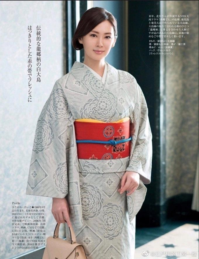 北川景子/ 和服collection ·年年上榜最适合穿和服的女演员