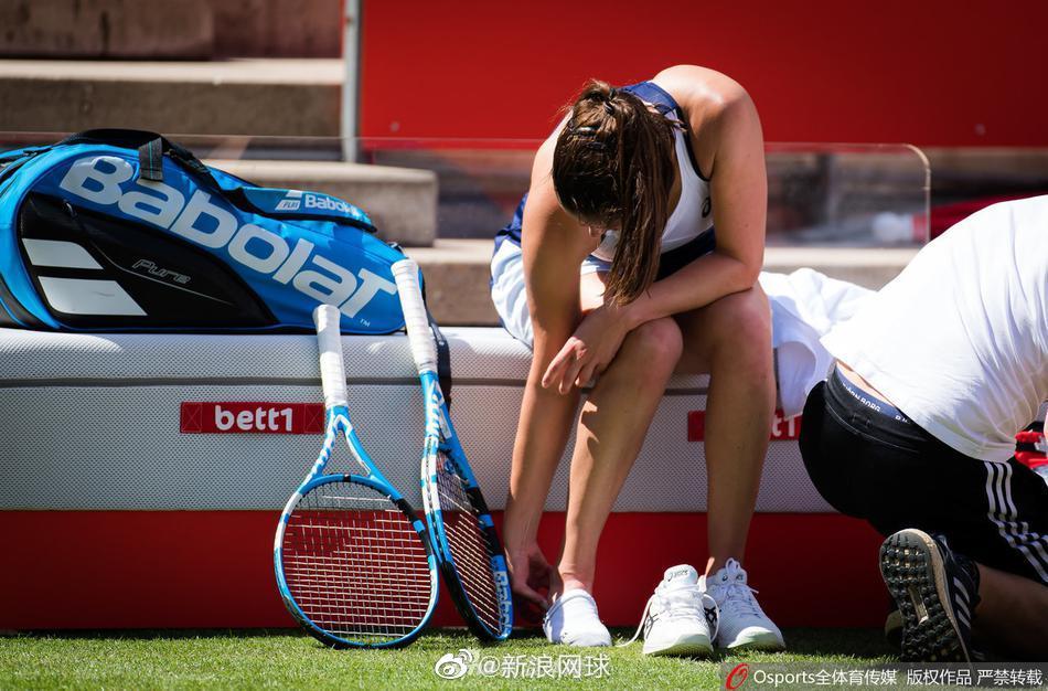 格尔格斯在对阵塞瓦斯托娃比赛中不慎受伤,最终退赛: