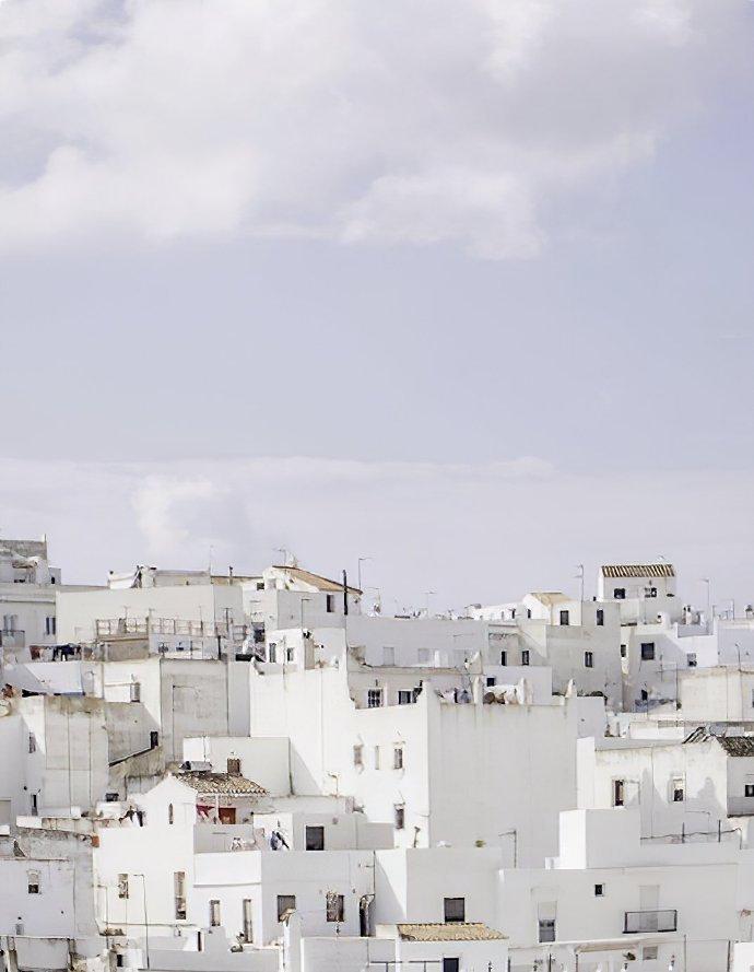 西班牙的白色系风情小镇米加斯