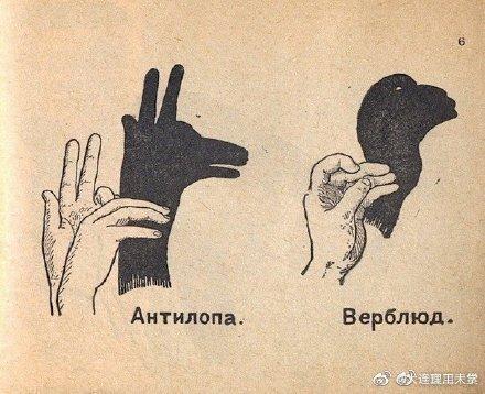 小时候经常玩的手影游戏,马了没事再玩玩!!(@实用干货 )