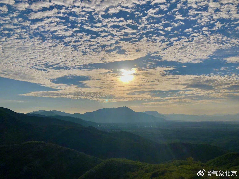 再来一组今早的清爽,下午天空云量逐渐增多