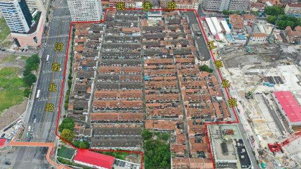 虹口17街坊收尾交地 系目前虹口区旧改最大单体地块