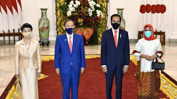 日本和印尼举行首脑会谈