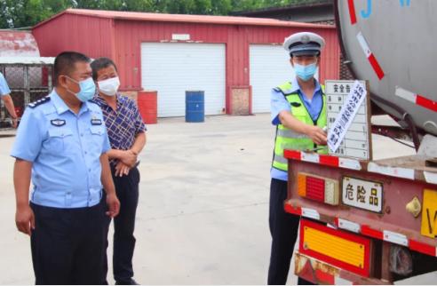 我省公安交管部门开展危险化学品运输交通安全专项整治行动
