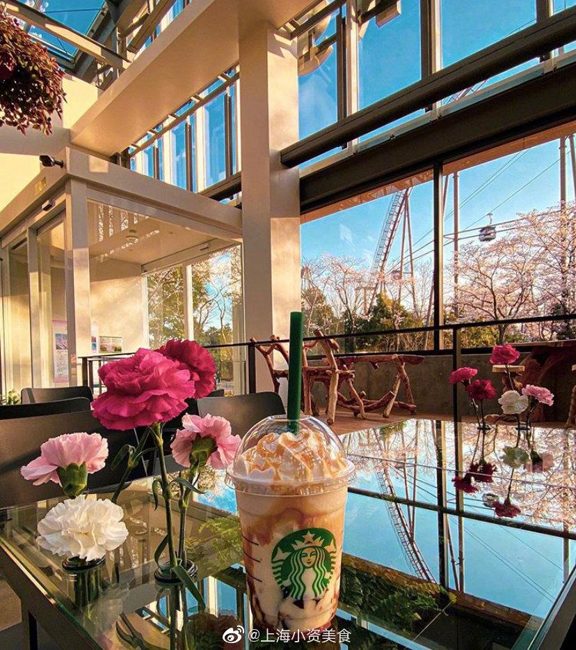 全球首个星巴克温室花园!喝咖啡、赏花、还带小水族馆