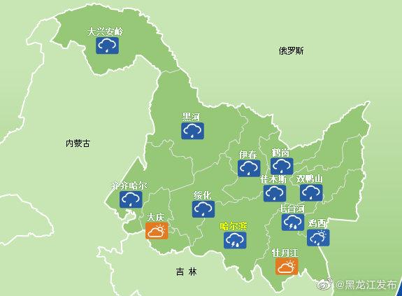 今明两天受东北冷涡影响,我省持续降雨