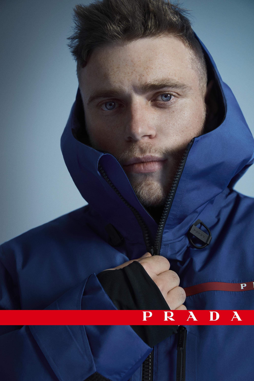 Linea Rossa 2020秋冬系列广告大片由英裔美籍自由滑雪名将Gus Kenwor
